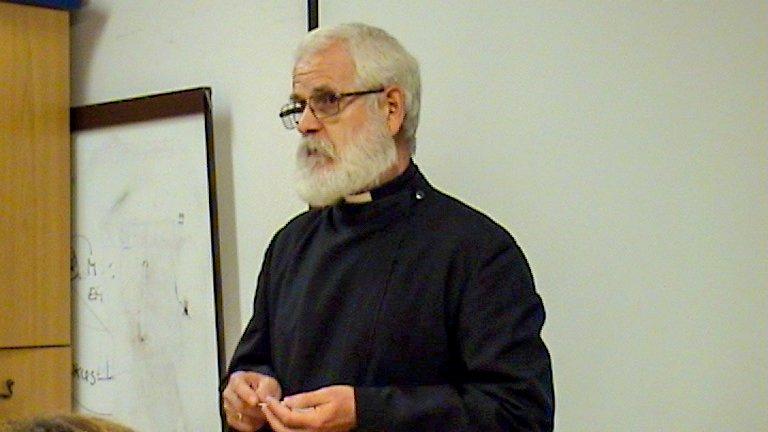 Ivancsó atya tartott előadást az Eucharisztiáról