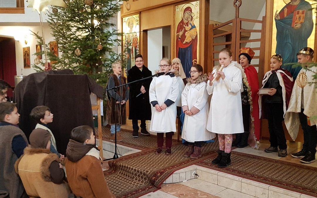 Kántálással és pásztorjátékkal is ünnepeltük a karácsonyt
