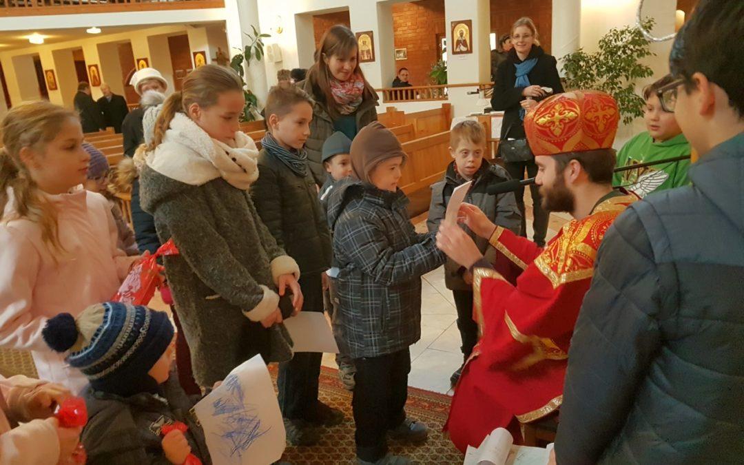 Egyházközségünkben is járt Szent Miklós követe
