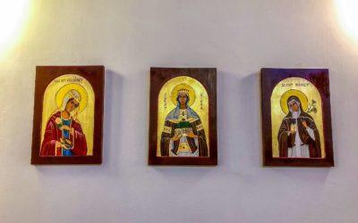 Új ikonok a templomunkban