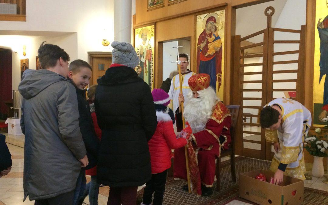 Mikulás ünnepség egyházközségünkben