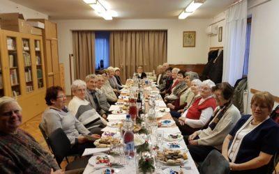 Lelki napot tartott a Jósavárosi Nyugdíjas Egyesület