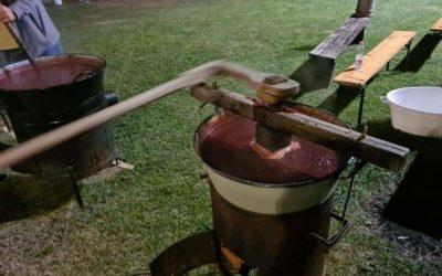 Szilvalekvár főzés