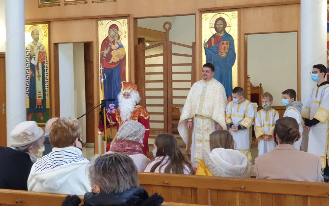 Szent Miklós követe járt az egyházközsegünkben
