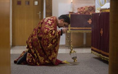 Nagyböjt első Előszenteltek liturgiája
