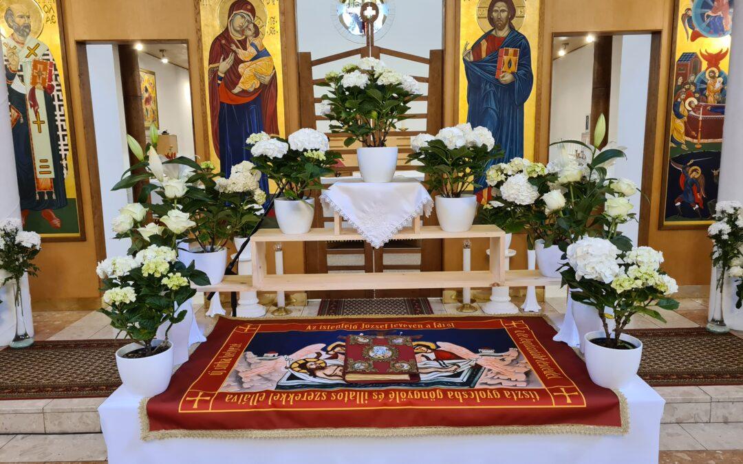 Szent sír a Jósavárosban