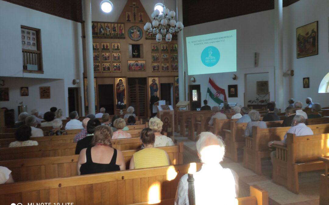 Dr Dolhai Lajos egyházközségünkben