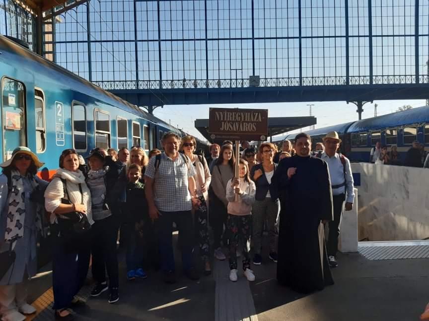 Jósavárosi egyházközségünket képviselő zarándokok a pápai liturgián